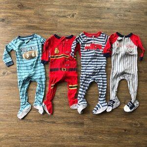 Carter's Footie Pajama Bundle in Size 12 months
